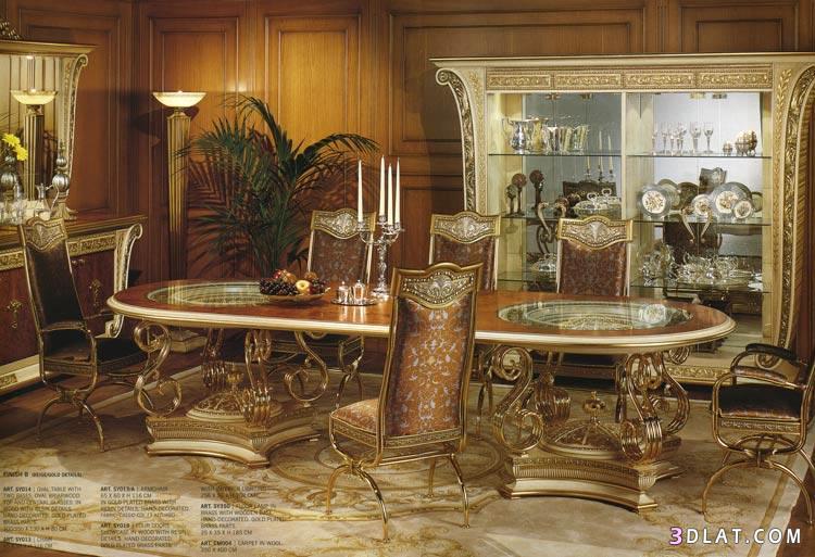 صورة غرف طعام كلاسيك
