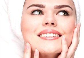 صورة وصفة البيض والنشا لازالة شعر الوجه