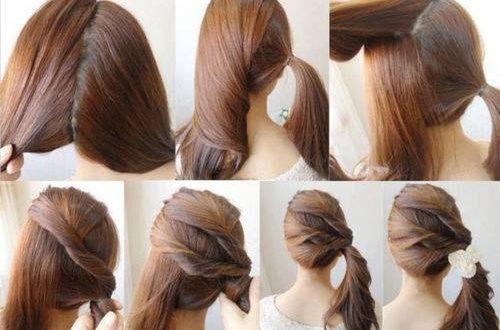 صور تسريحات الشعر بالصور والخطوات