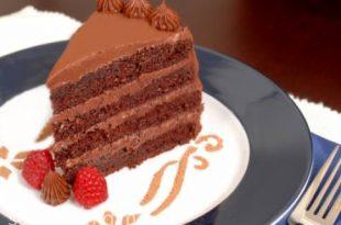 صورة اجمل كيكات الشوكولاته