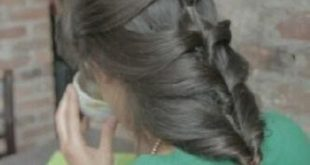 صور كيف اصبغ شعري رمادي زيتي في البيت