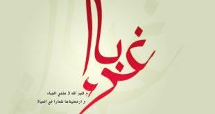 صورة نشيد غرباء mp3