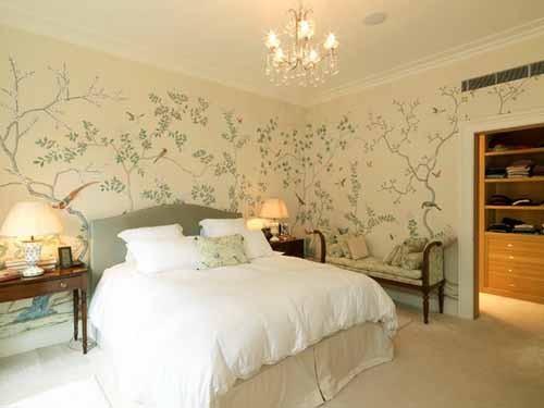 صورة ورق الحائط لغرف النوم