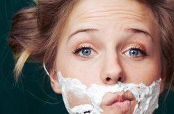 صورة اسباب الشعر الزائد في الوجه