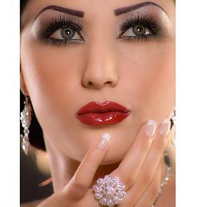 بالصور اجمل طريقة لمكياج الزواج , ميكب العروس بالصور 42873 4