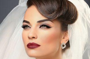 بالصور اجمل طريقة لمكياج الزواج , ميكب العروس بالصور 42873 8 310x205