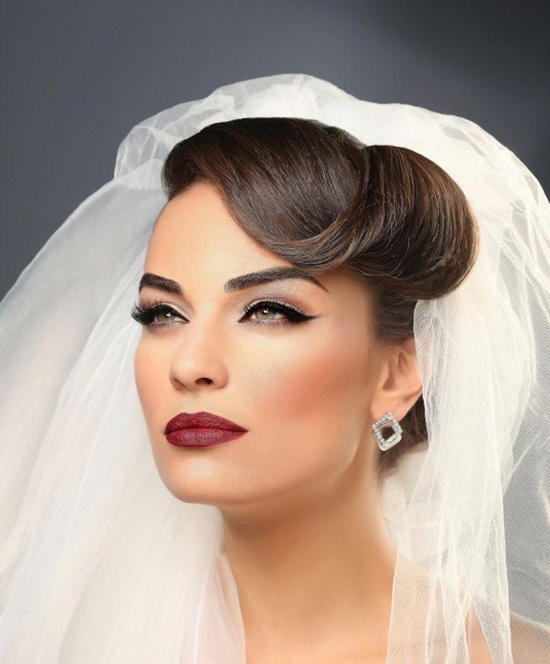 صورة اجمل طريقة لمكياج الزواج , ميكب العروس بالصور